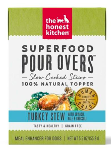 THE HONEST KITCHEN SUPERFOOD POUR OVER CKN/SPCH/KALE/BROC BROTH