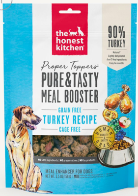 THE HONEST KITCHEN TURKEY FOOD TOPPER GRAIN FREE DEHYDRATED DOG FOOD 5.5 OZ