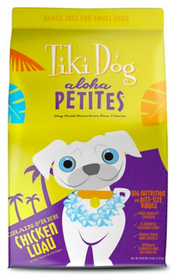 TIKI DOG ALOHA CHICKEN PETITE 3.5 LBS