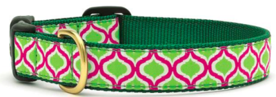 UP COUNTRY GREEN KISMET CAT COLLAR SIZE 12