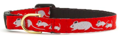 UP COUNTRY MOUSE CAT COLLAR SIZE 12