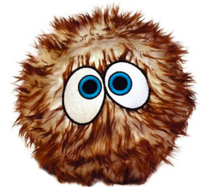 VIP SILLY SQUEAKER BALL LARGE BROWN