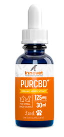 INNOVET PURCBD ORGANIC HEMP EXTRACT DOG AND CAT 125 MPG