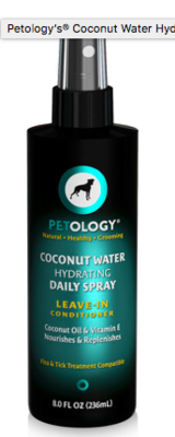PETOLOGY COCONUT WATER HYDRATING DAILY SPRAY