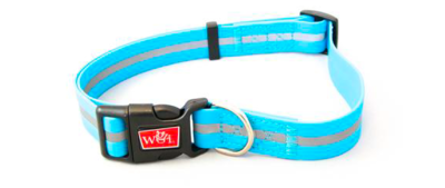 WIGZI WATERPROOF REFLECTIVE HARNESS LARGE NEON BLUE 25-39