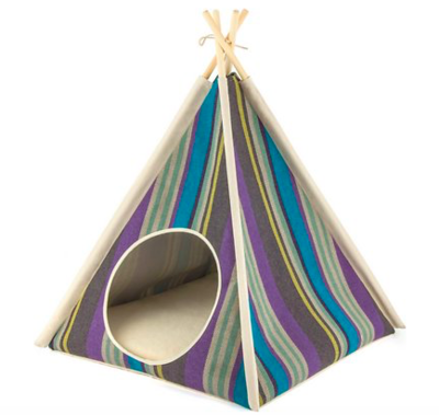 P.L.A.Y  WOODLAND TEEPEE FOR PETS Green Or Purple