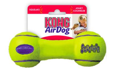 KONG AIR DOG SQUEAKER DUMBELL LARGE