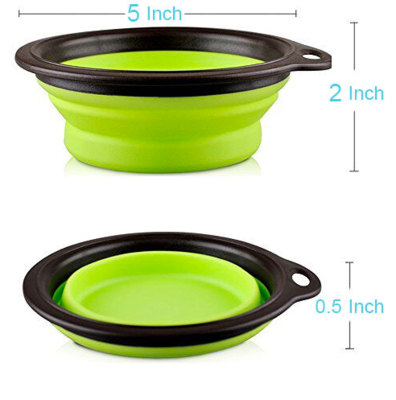 THE DOGGIE STORE OUTLET TRAVEL COLLAPSIBLE BOWL