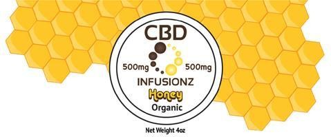 Infusionz CBD Honey Full Spectrum 500MG