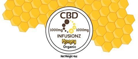 CBD Infusionz CBD Honey Full Spectrum 1000MG