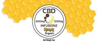 Infusionz CBD Honey Full Spectrum 1000MG