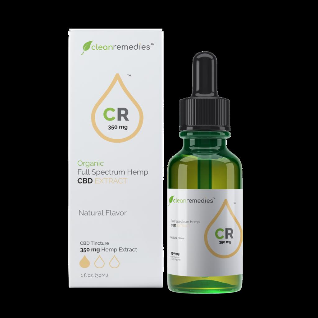 Clean Remedies Full Spectrum CBD Oil- 350mg