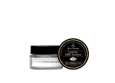 Clean Remedies Pure CBD Isolate Powder 2000MG