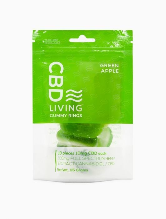 CBD Living Apple Rings 100MG CBD
