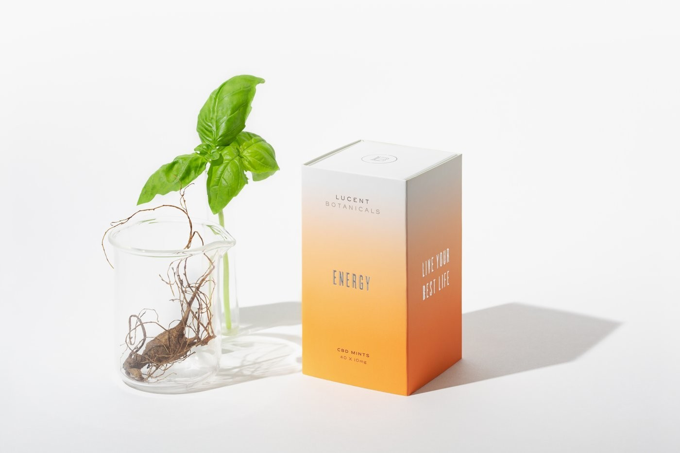 Lucent Botanicals CBD Energy Mints