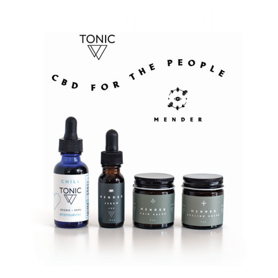 Mender/Tonic CBD Starter Gift Set