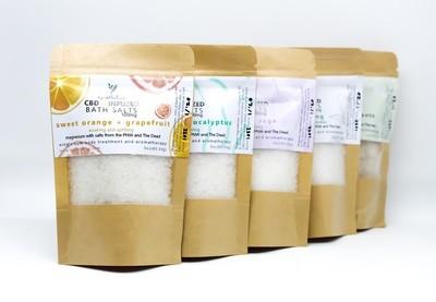 MJ Esthetics Bath Salts - Lavender Sage
