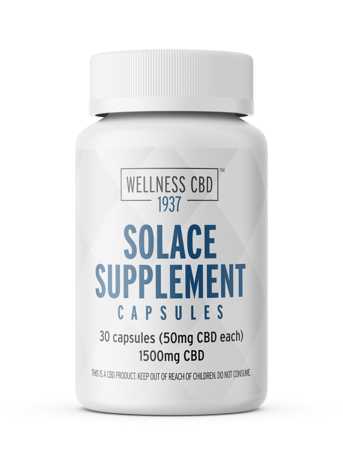 Solace Supplement CBD Oil Capsules - 1500 MG