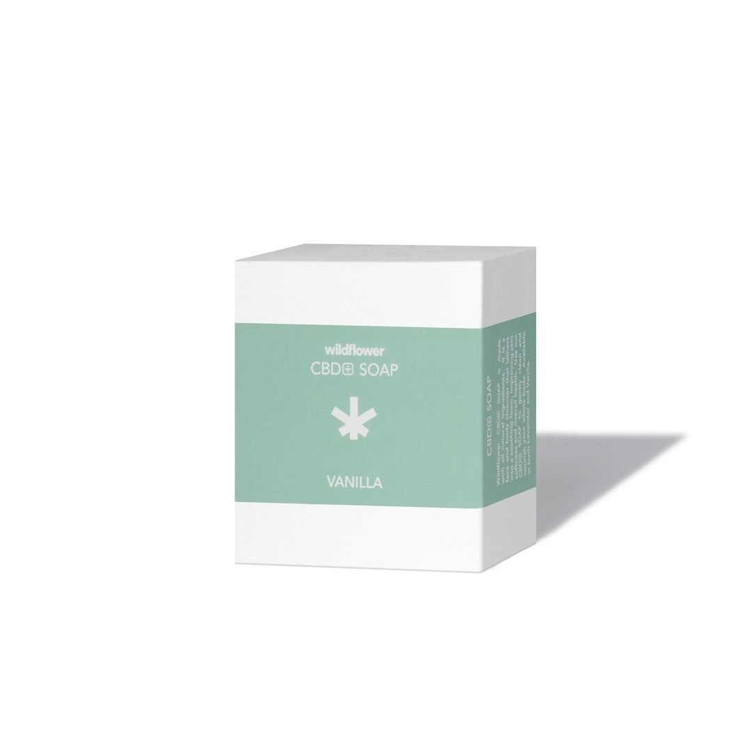 Wildflower CBD Soap Vanilla
