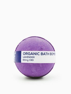 CBD Living Bath Bomb - 60MG CBD