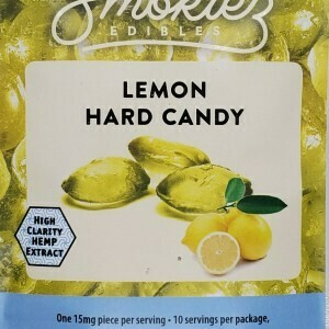 Smokiez CBD Lemon Hard Candy 150MG