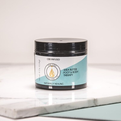 CBD Skin Care Co -CBD Infused Shea Butter Foot & Body Therapy