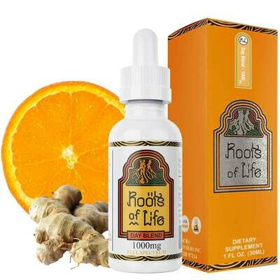 Roots of Life - Full Spectrum Daytime Tincture with Turmeric (1000mg)