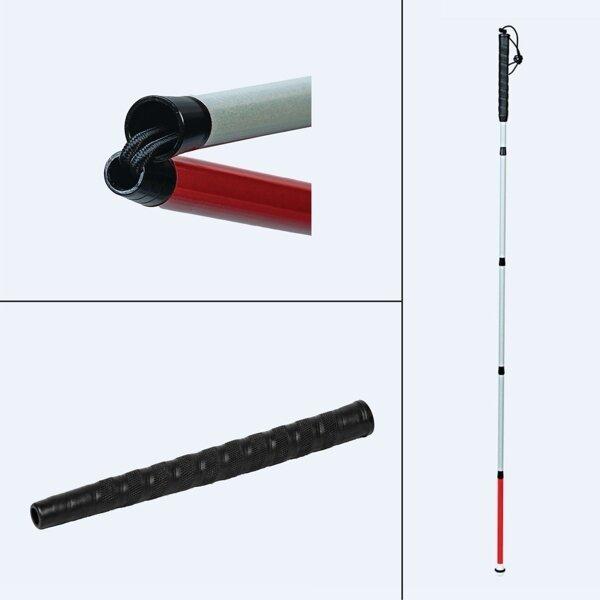 Ambutech Folding Slimline Graphite Mobility Cane
