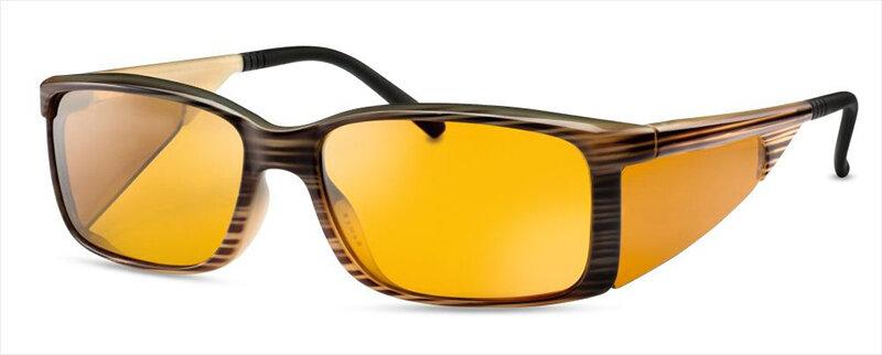 WellnessPROTECT Eyewear - Large Black Frame