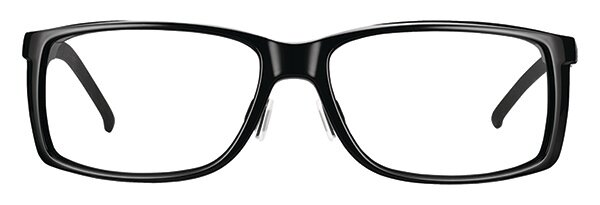 WellnessPROTECT Eyewear - Large Black Frame Only