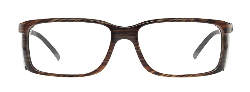 WellnessPROTECT Eyewear - Large Brown Frame Only