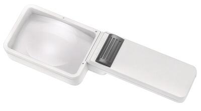 Mobilux Economy Illuminated Hand-held Magnifier - 3.5x