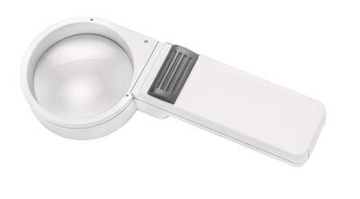 Mobilux Economy Illuminated Hand-held Magnifier - 5x