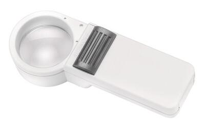 Mobilux Economy Illuminated Hand-held Magnifier - 10x