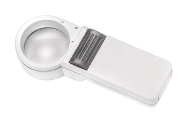 Mobilux Economy Illuminated Hand-held Magnifier - 7x