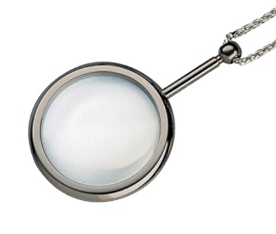 Pendant Magnifier - Chrome
