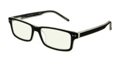 Polinelli Reader - Black/Clear