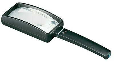 Aspheric Hand-held Magnifier - 3x