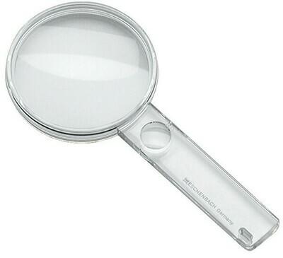 Economy Biconvex Hand-held Magnifier - 2.3x