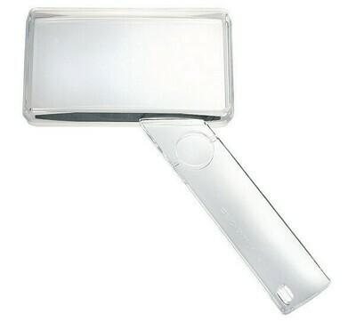 Economy Biconvex Hand-held Magnifier - 2x