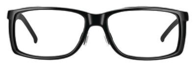 WellnessPROTECT Eyewear - Large Black Frame Only