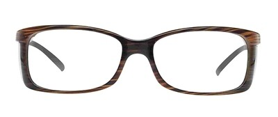 WellnessPROTECT Eyewear - Small Brown Frame Only