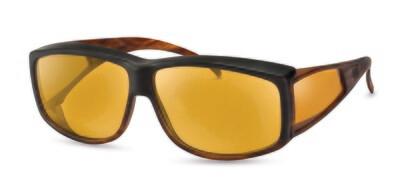 WellnessPROTECT Eyewear - Extra Large Black/Brown
