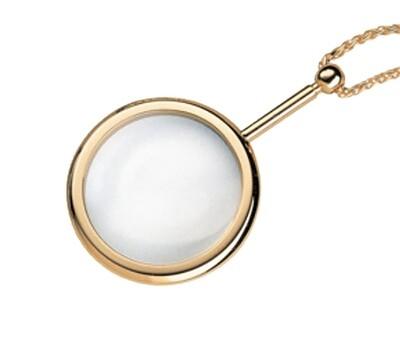 Pendant Magnifier - Gold