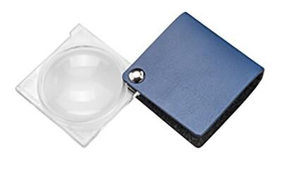 Magno Folding Pocket Magnifier - Blue 3.5x