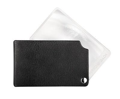 VisoPOCKET Folding Magnifier - Black 2.5x