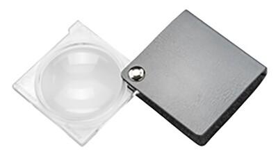 Magno Folding Pocket Magnifier - Silver 3.5x