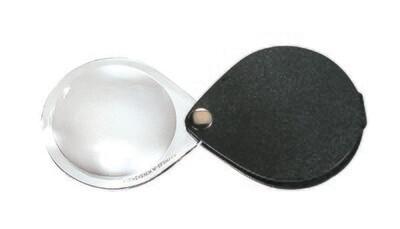 Classic Folding Pocket Magnifier - Black 3.5x