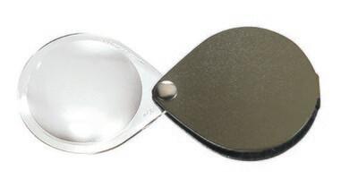 Classic Folding Pocket Magnifier - Pine Green 3.5x