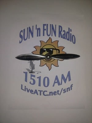 SUN 'n FUN Radio 25th Anniversary Spinner Prop SHIP IT TO ME!!!